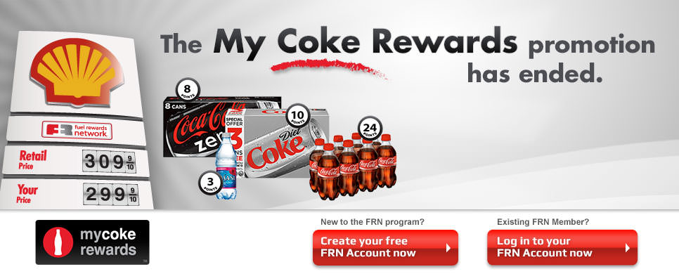 My Coke Rewards Promotion