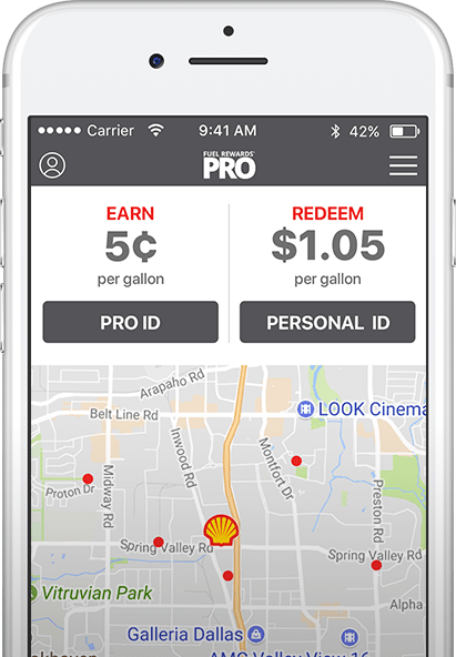 Fuel Rewards Pro app