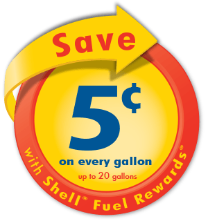 check out participating shell locations for specially marked items like coffee drinks snacks and more present your fuel rewards card or alt id when - How To Use Shell Fuel Rewards Card