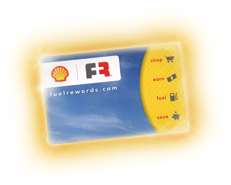 Fuel Rewards card